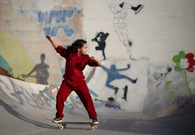 No profit e brand moda ricostruiscono skate park a Gaza