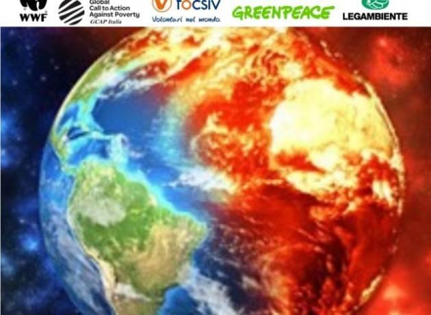 Ambientalisti e Ong a G7, G20 e Draghi: ''Il cambiamento climatico accelera, accelerare gli aiuti ai Paesi più vulnerabili''