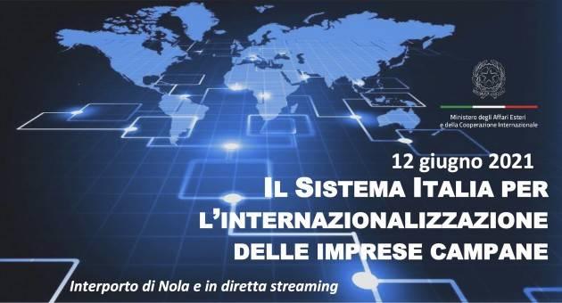 Il ministro Di Maio al webinar ''Il Sistema Italia per l'internazionalizzazione delle imprese campane''