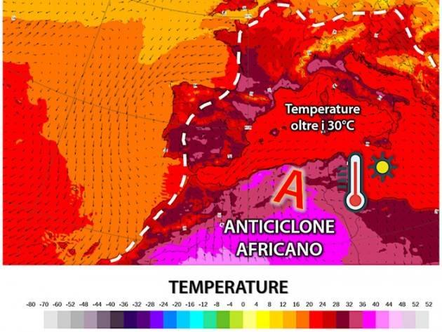 CREMASCO: ARRIVA IL CALDO AFRICANO