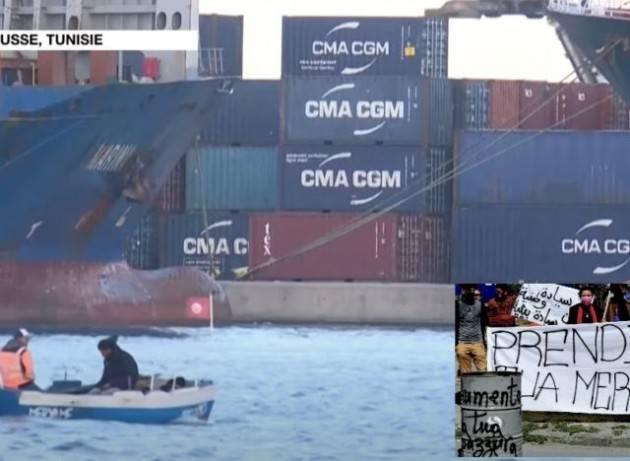 Rifiuti italiani in Tunisia, Legambiente, Greenpeace e Wwf: rispettare la Convenzione di Basilea, il governo Draghi ritiri i container