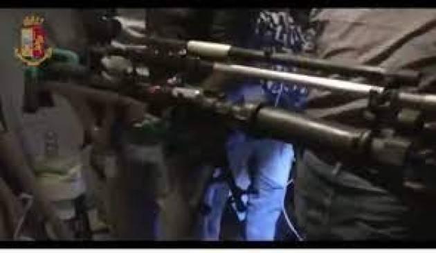 Arrestato fabbricante abusivo di armi ed esplosivi