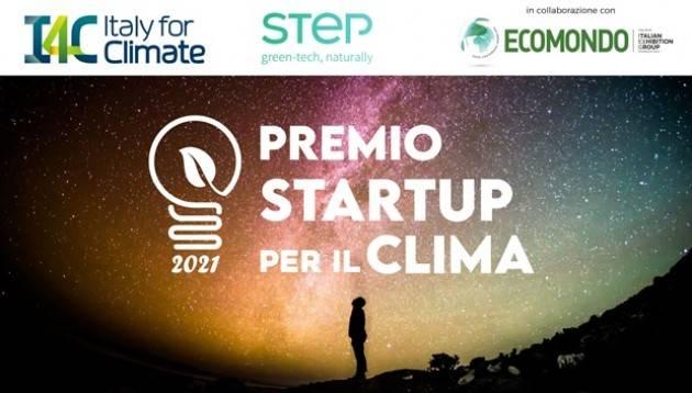 Lanciato il ''Premio startup per il clima''