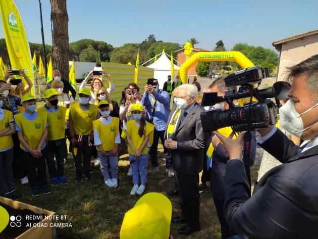 Grandissima emozione per gli alunni di Ripalta Cremasca  nell'incontro con il Presidente della Repubblica Sergio Mattarella