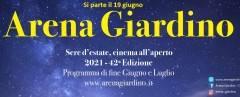Cremona Riapertura il 19 giugno Arena Giardino – Estate 2021- 42° Edizione