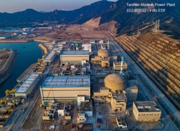 Incidente nella centrale nucleare cinese di Taishan di EDF?