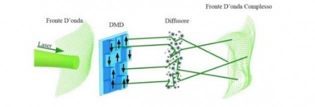 Algoritmo ottico per la simulazione numerica della dinamica di un vetro di spin