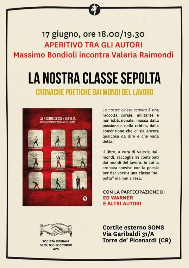 Torre de Picenardi La nostra classe sepolta Incontro con gli autori Raimondi e Bondioli