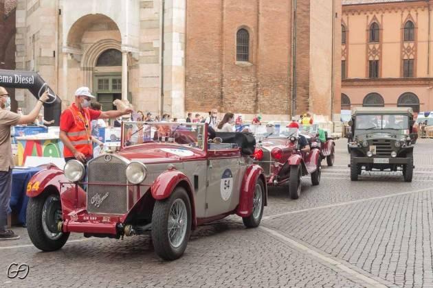 Mercoledì 16 giugno 2021 e le Mille Miglia sono passate da Cremona  (Video)