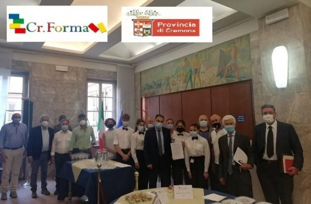 Cremona Signoroni: 'Cr.Forma, un modello  di riferimento ed eccellenza nel panorama della formazione regionale'