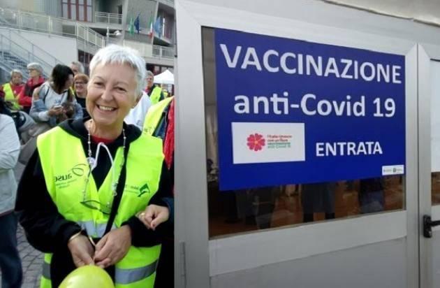 Crema Benemerenze ai volontari  del Centro vaccinale