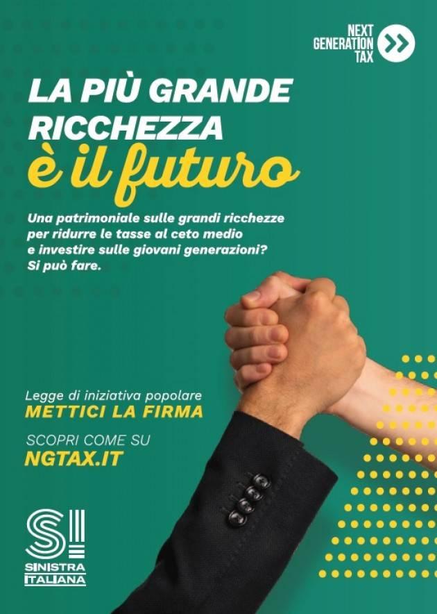 Sinistra Italiana a Crema e Cremona raccoglie firme Next Generation Tax
