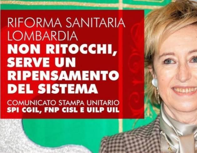 Pensionati Lombardi Per la riforma sanitaria non servono ritocchi