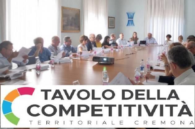 Tavolo della Competitività di Cremona Mettere al centro il lavoro