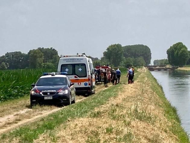 TRAGEDIA AL CANALE VACCHELLI: MORTI DUE GIOVANI 20ENNI  -  FOTO