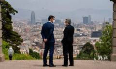 Il Presidente Draghi in visita in Spagna