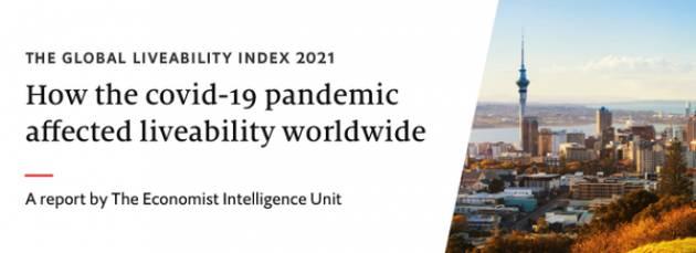 Indici di vivibilità delle città mondiali 2021