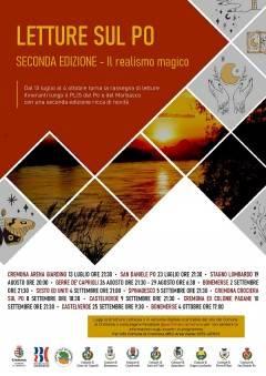 Seconda edizione di Letture sul Po, quest'anno va in scena il 'realismo magico'