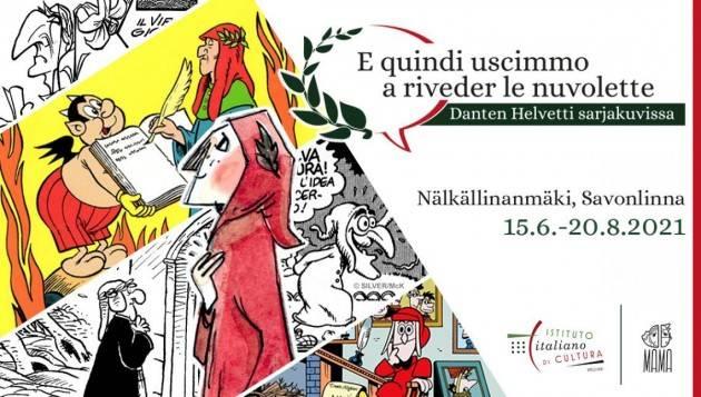 La Divina Commedia a fumetti in mostra in Finlandia