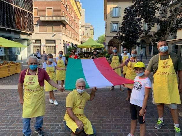 Cremona Coldiretti Campagna amica in piazza Stradivari, ritorno al futuro