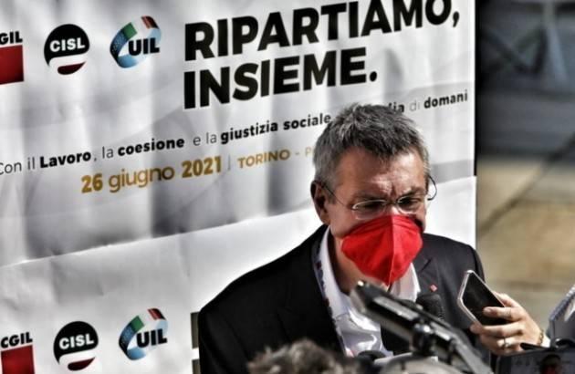 Cgil-Cisl-Uil Uniti per il lavoro  LA GIORNATA Le manifestazioni del 26 giugno