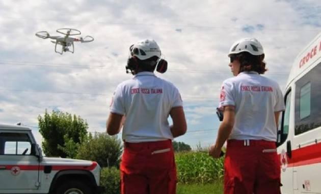 Croce Rossa pronta ad usare droni delivery per il trasporto di materiale sanitario urgente