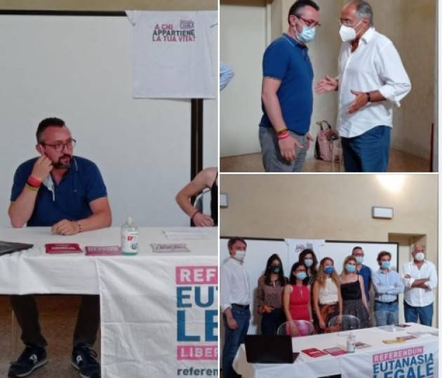 Matteo Piloni (Pd)  aderisce al referendum sull'eutanasia dei radicali.