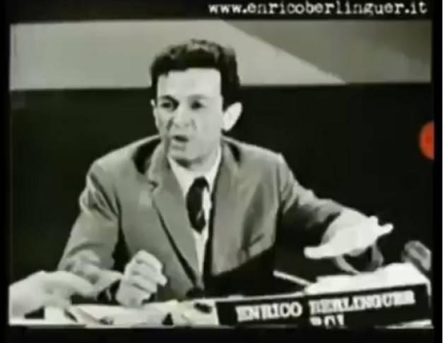 Enrico Berlinguer Vogliano una società che rispetti tutte le libertà..meno una