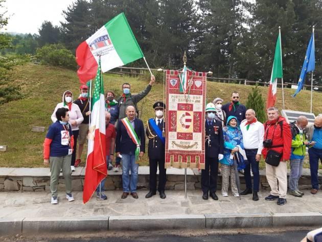 Il Cremona presente al 77° anniversario dell'eccidio del Colle del Lys