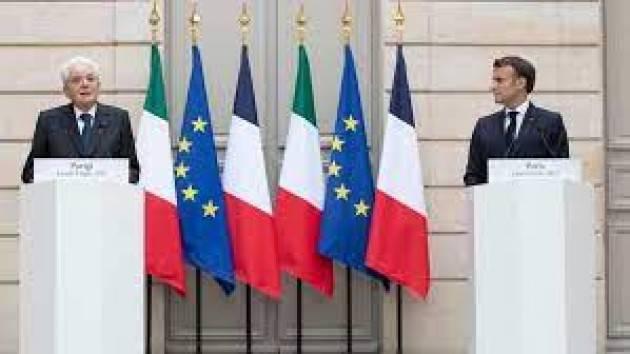 Mattarella a Parigi