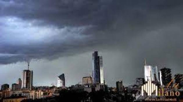 Rischio temporali da questa sera su Milano