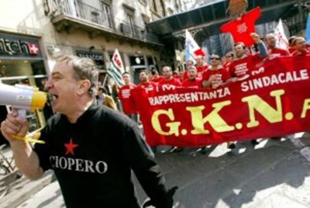 CNDDU Messaggio solidarietà ai 422 lavoratori licenziati  dalla GKN