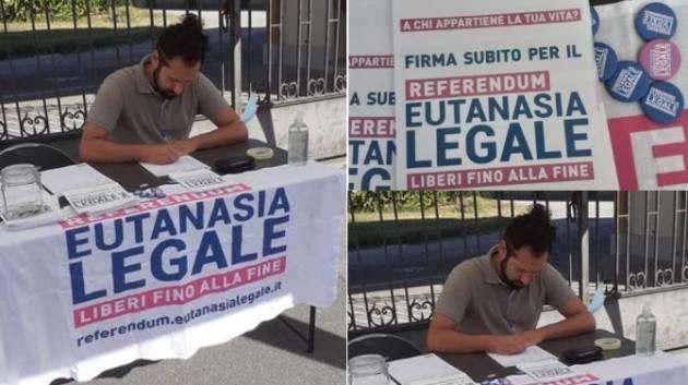 Jacopo Bassi (Crema) Ho firmato per sostenere il referendum per l'eutanasia