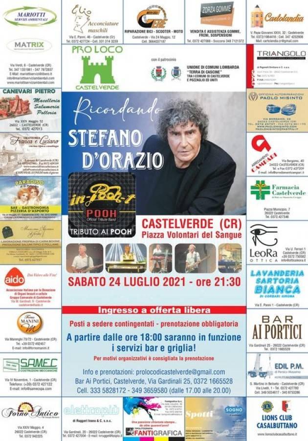 Castelverde (CR)  La Pro-Loco organizza per il 24 luglio una serata memorabile