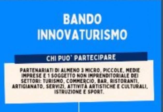 Innovaturismo, al via bando progetti innovativi nel turismo lombardo