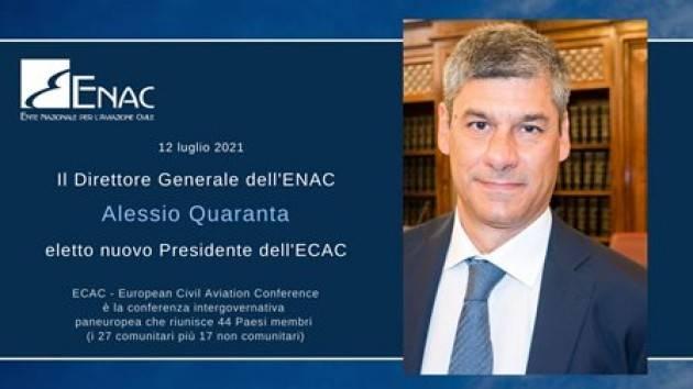 Quaranta alla presidenza dell'Ecac/ Giovannini