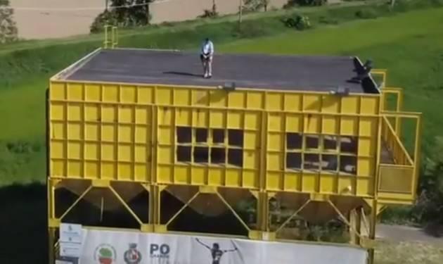 Michel Marchi presso Parco del Po e Morbasco Gerre de' Caprioli (Video)