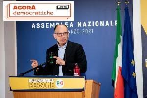 Pd, Enrico Letta: se perdo a Siena lascio. Partono le 'Agorà democratiche.