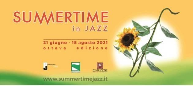 Summertime in Jazz 2021: sabato 24/07 a Morfasso e lunedì 26/07 a Rivergaro