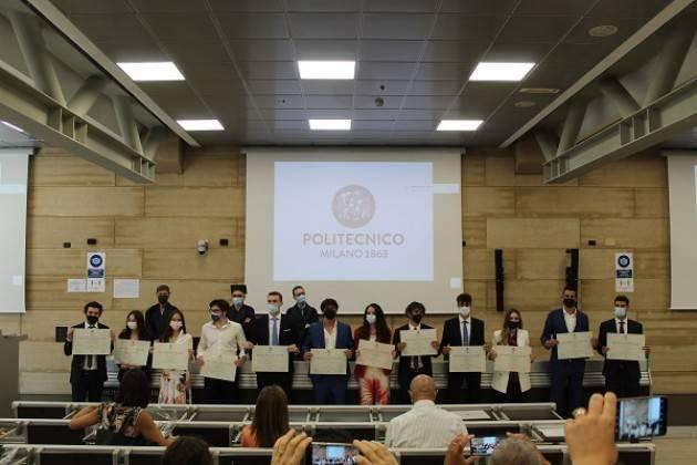 POLITECNICO  Il Campus di Cremona ha proclamato 21 nuovi Ingegneri in presenza
