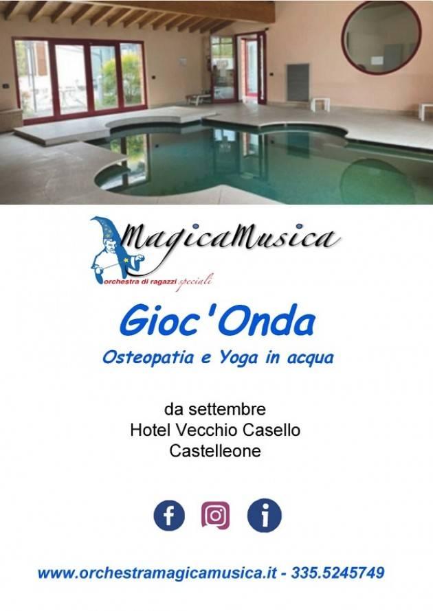 Castelleone Gioc'Onda, MagicaMusica approda in piscina