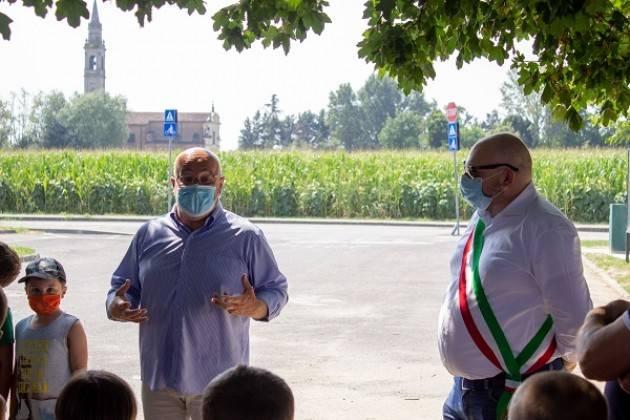 Gussola, Padania Acque : inaugurata la casa dell'acqua 'Fonte Borgolieto'