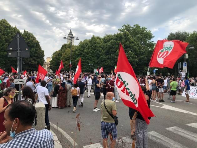Voghera in piazza Giustizia per Musta, Youns El Bousettaoui| Carlo Porcari