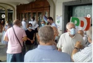 Voghera il PD ha manifestato contro il  Far West e la Sindaca