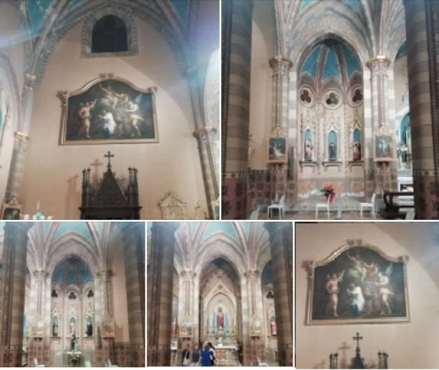 San Daniele Po Inaugurata nuova illuminazione chiesa  |Fabrizio Lini