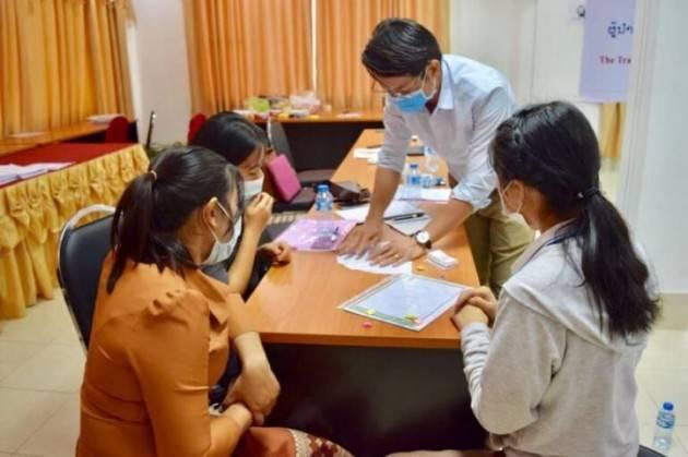 Cri sostiene i giovani della Croce Rossa del Laos nella prevenzione delle malattie non trasmissibili