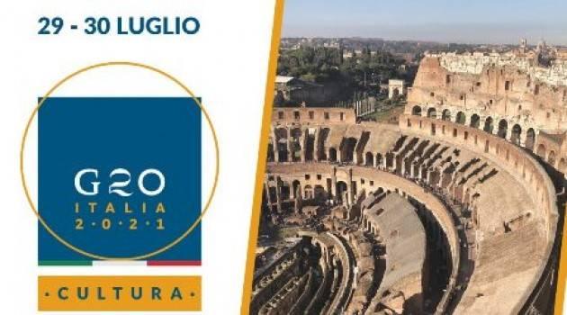 Il 29 e 30 luglio a Roma la ministeriale Cultura del G20