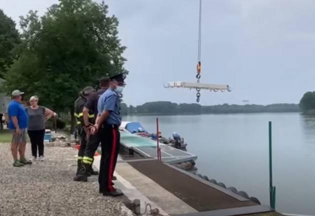 Monticelli D'Ongina (Piacenza) Ritrovato cadavere nel fiume Po