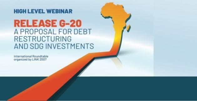 Release G20: la proposta per lo sviluppo dell'Africa