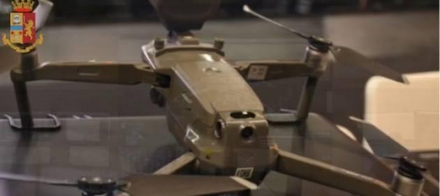 Droni: voli sopra il limite, denunciato un 61enne